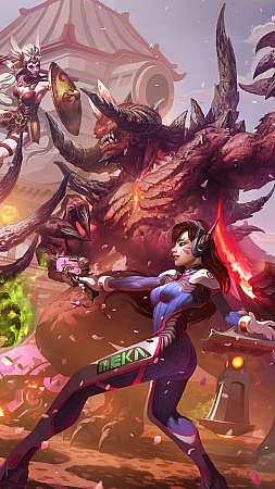 Hanamura showdown Handy Vertikal Hintergrundbild