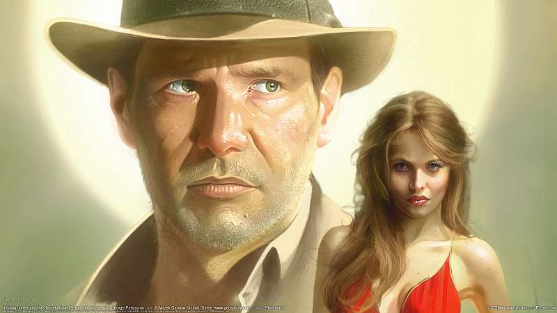 Indiana Jones and the Secrets From Beyond book cover Hintergrundbild