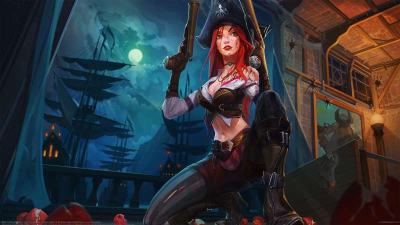 Miss Fortune fan art Hintergrundbild