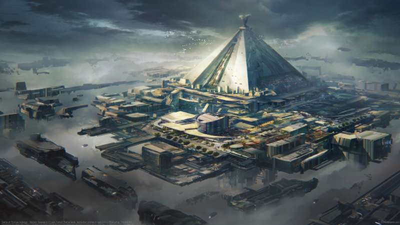 Game of Thrones redesign - Mereen Spaceport Hintergrundbild