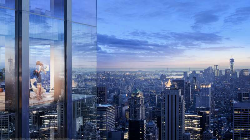 5th Avenue Tower | Exteriors Hintergrundbild