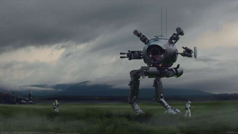 Star Wars AT-IT Hintergrundbild